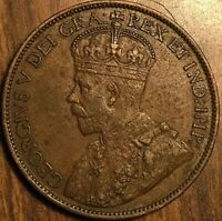 1913 CANADA LARGE CENT PENNY COIN - Excellent example!