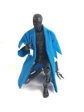 MY-SG-B: FIGLot 1/12 Japanese Style Cloth Robe for Figma, SHF figures - Blue