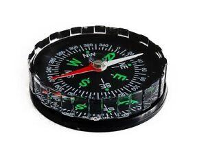 Tragbarer Taschenkompass Kompass Navigation Wandern Reise Marschkompass 4,5 cm