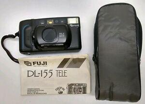 FUJI DL-155 TELE 35mm Camera MADE IN JAPAN