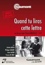 """DVD """"Quand tu liras cette lettre"""" - Melville - Juliette Gréco  NEUF SOUS BLISTER"""
