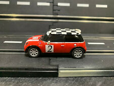Carrera Go 1/43 Slot Car Mini Cooper Red
