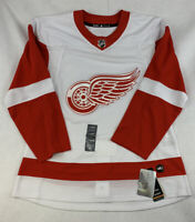 Adidas Authentic Detroit Red Wings Mens Size 50 NHL Hockey Jersey Red White New