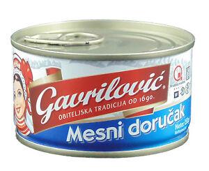 Gavrilovic Frühstücksfleisch / Mesni dorucak 150 g, Mesni dorucak