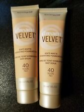 2 Maybelline Dream Velvet Soft Matte Hydrating Foundation NUDE 40