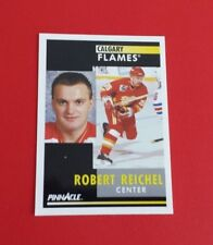 1991/92 Pinnacle Hockey Robert Reichel Card #56***Calgary Flames***