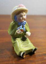 Antique Germany Tielsch Hutschenreuther Child with Ball Figurine