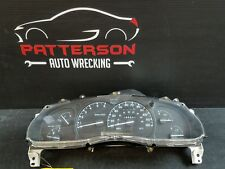 2001 FORD EXPLORER Speedometer Gauge Cluster Assembly 147K ID F87Z10848AA