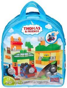 Mega Bloks Thomas & Friends Thomas Sodor Adventures Building Bag 70 PCS