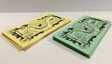 SpongeBob Squarepants Operation Game Replacement Pieces Parts PAPER PLAY MONEY