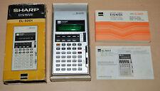 SHARP Elsi Mate EL-5001 vintage VDF calculator excelent box & instructions rare
