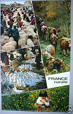 FRANCE RURALE - FRENCH POSTER