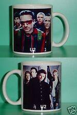 U2 - Bono - with 2 Photos - Designer Collectible Gift Mug 02