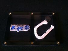 Orlando Magic Patch &  GAME USED NET PIECE from NBA Game in Display!