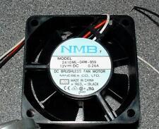 NMB 2410ML-04W-B59 60mm CUSCINETTO A SFERA FAN 12v