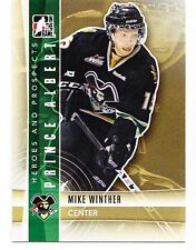 50ct Mike Winther 2011-12 ITG Heroes & Prospects Hockey Update Rookie Lot #235