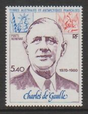 FSAT/TAAF/French Antarctic - 1980, 5f40 Charles de Gaulle stamp - MNH - SG 148