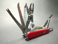 VINTAGE VICTORINOX SWISS CHAMP Swiss Army KNIFE. OFFICIE R SUISSE ORIGINAL COLLE