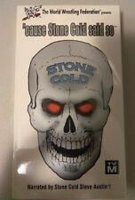 WWE Cause Stone Cold Said So VHS Video SEALED Steve Austin 1998 Bret Hart WWF