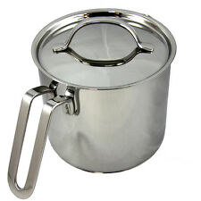 Silampos Stainless Steel Palace Milk Pot 14 1.9 Liters  - 65 Fl.Oz