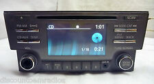 13 14 Nissan Sentra XM Radio Cd Player & Aux Port 28185-3RA2B BZ2012