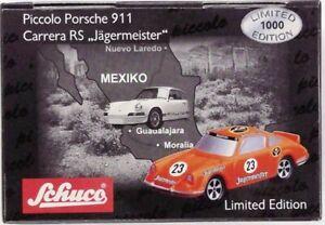 Schuco Piccolo Porsche 911 Carerra RS #23 Jägermeister Art. 01346 TOP