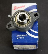 "BROWNING 5/8"" VF2S-110M USA Flange Ball Bearing NEW IN BOX"