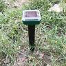 Ultrasonic Solar-Power Cat/Dog Garden Sensor Animal Snake Scarer Pest-Repeller#
