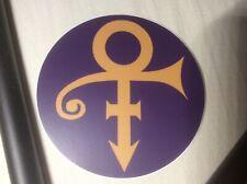 Prince 3� Round Vinyl Sticker - Love Symbol