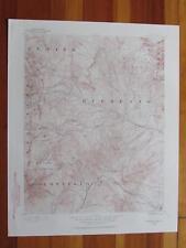 Huerfano Park Colorado 1961 Original Vintage USGS Topo Map