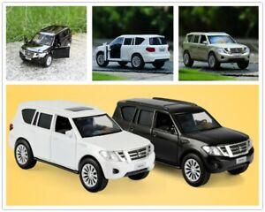 JKM 1:36 Nissan Patrol 4-Wheel Drive SUV Alloy Car Vehicle Model Diecast Toy