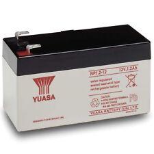 Yuasa NP1.2-12 Lead Acid Battery 12V,1.2Ah