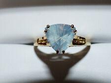 Superb Blue Moon Quartz Ring