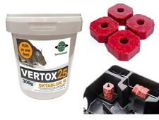 More details for rat poison mouse killer max strength block bait quick one feed