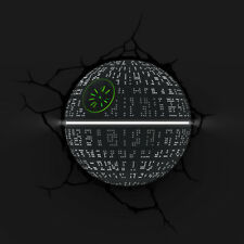3D FX Star Wars Death Star Wall Night Light