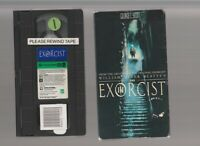 THE EXORCIST III Horror VHS video Movie WILLIAM PETER BLATTY'S CULT SEX 3 THREE