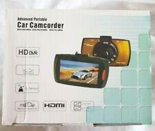 Advanced Portable Car Camcorder - HDMI, HD DVR (190x1080), 170 degrees, 5 MPixel