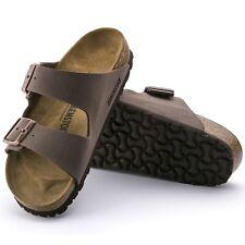77243ebb70db49 Birkenstock Arizona normal Nubuk mocca braun Sandalen Pantoletten 151181 NEU