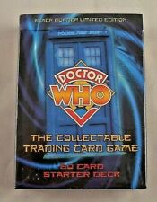 Doctor Who Collectable Trading card game Black Border Edition Starter Deck