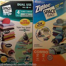 Space Bag  4 Bag Combo Set   Vacuum- Seal  Space Saver