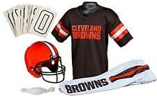 Cleveland Browns Youth Jersey Medium Uniform Set NFL Kid Football Helmet Costume