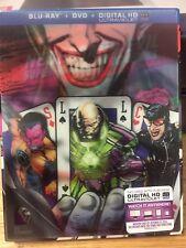 NECESSARY EVIL SUPER-VILLAINS OF DC COMICS BLU-RAY / DVD / ULTRA - Lenticular