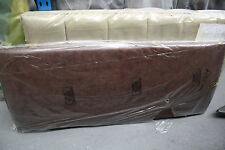 Hypnos FAYE Curved Strutted Headboard 150 CM king size *brown leather*