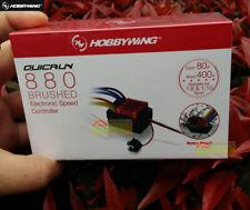 Original Hobbywing QUICRUN WP 880 Dual Brushed ESC 2-4S For RC 1:8 1:10 Vehicles