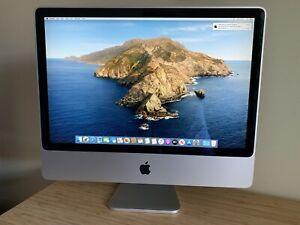 """Upgraded iMac 24"""" (2008) - 6GB RAM, 480GB SSD - A1225 MB325B/A - runs Catalina"""
