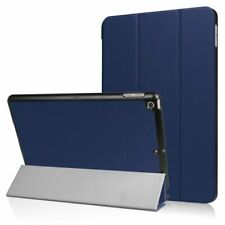 Tri-fold smart case hoes voor iPad 9.7 (2017 / 2018) - blauw