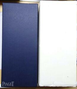 Original Piaget Watch box blue complete