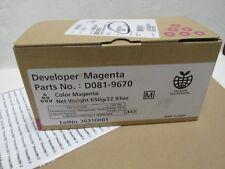 Genuine Ricoh MAGENTA Developer D08109670 D081-9670