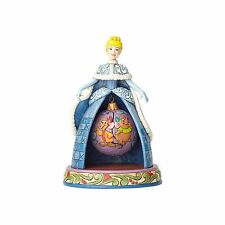 Jim Shore Disney Figurine Cinderella Christmas Jaq Gus Mice Ornament Fold Art