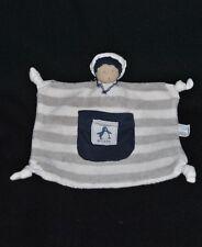 Peluche Doudou Poupée Marin Bleu Rayé Blanc WELEDA Maud Fontenoy Fondation NEUF